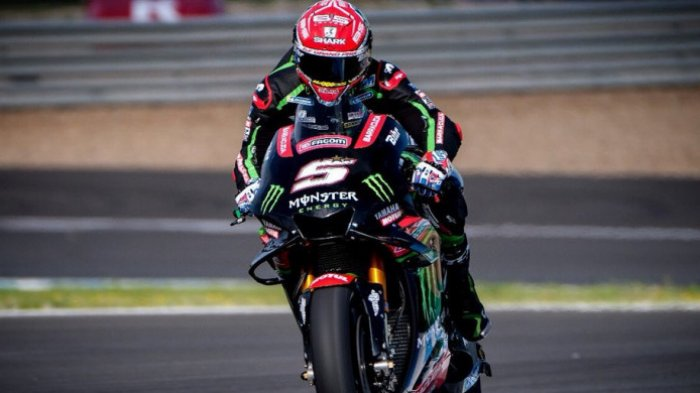 Hasil FP3 MotoGP Eropa, Johann Zarco Tercepat, Valentino Rossi Posisi Kedelapan