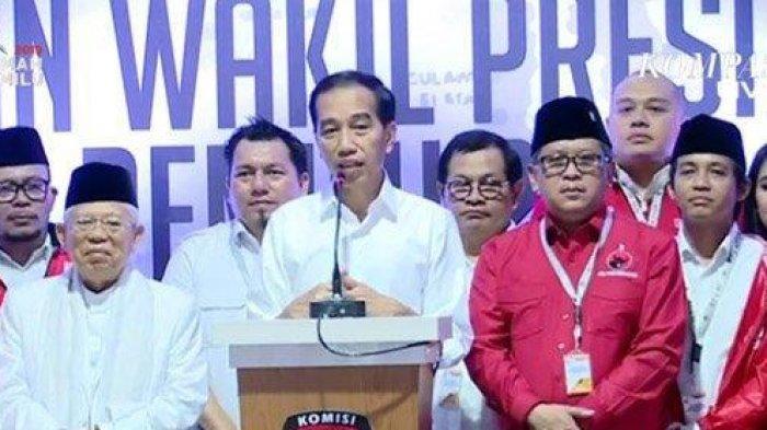 Nama Calon Menteri Jokowi-Maruf Amin Sudah Dikantongi, Sang Presiden Beri Bocoran