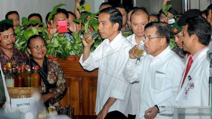 Inilah Jamu Sehat Kesukaan Presiden Jokowi, Koki Istana Bagikan Resep dengan Rumus 8-6-3