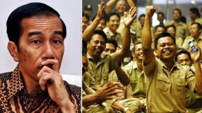 Jokowi Disentil karena Kebijakannya Bagikan THR Triliunan Rupiah Berbau Politis