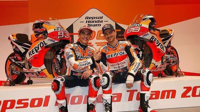 Prestasi Marquez dan Lorenzo Bagaikan Langit dan Bumi, Begini Komentar Manajer Repsol Honda