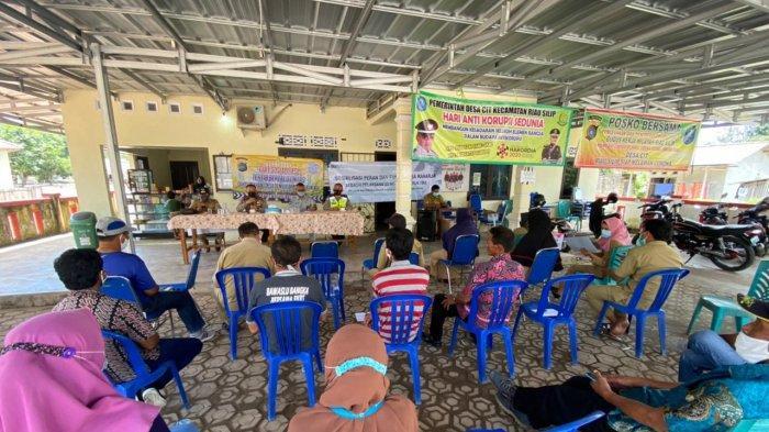 Jasa Raharja Bangka Belitung Bersama Satlantas Polres Bangka Gelar Sosialisasi di Desa Cit