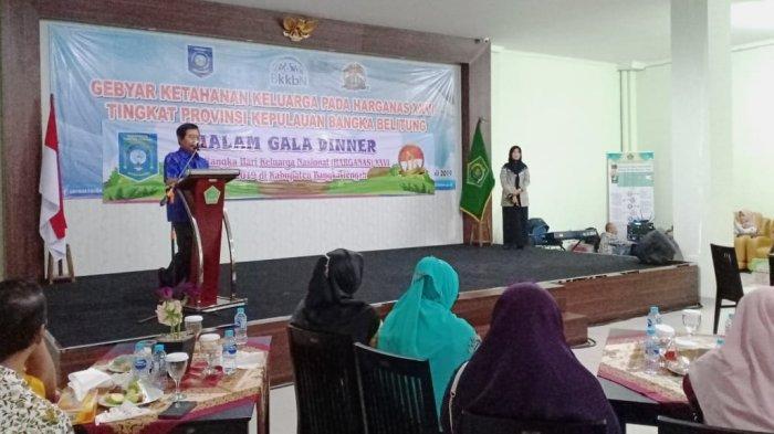 Gala Dinner Harganas, Wagub Abdul Fatah Pesan Kurangi Menggunakan Plastik