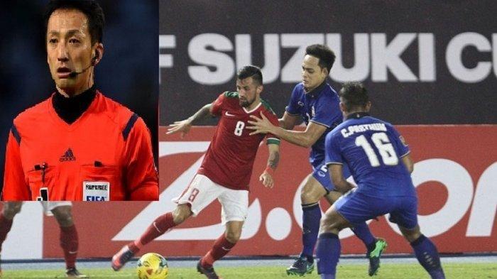 Kredibilitas Wasit Indonesia vs Thailand Lagi Naik Gara-gara Pelit Keluarkan Kartu