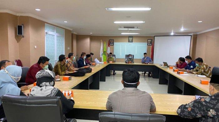 IAIN SAS Bangka Belitung Gelar.Penyerahan Petunjuk Operasional Kegiatan ke Unit Kerja