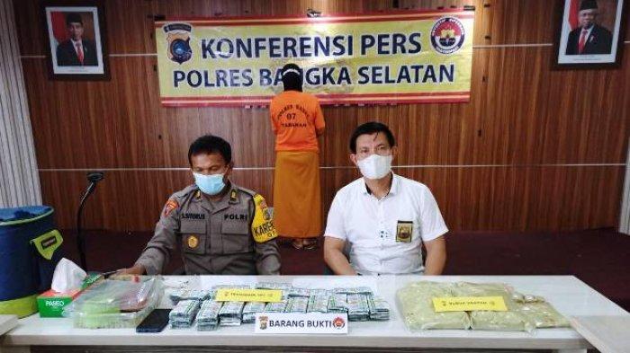 Simpan 4.310 Butir Tramadol HCl di Rumah, IRT di Toboali Dibekuk Polisi