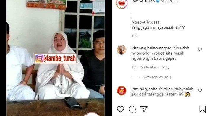 Kabar babi ngepet di Depok yang sempat viral di jagad media sosial membuat salah seorang warga sekitar menuduh tetangganya pakai pesugihan