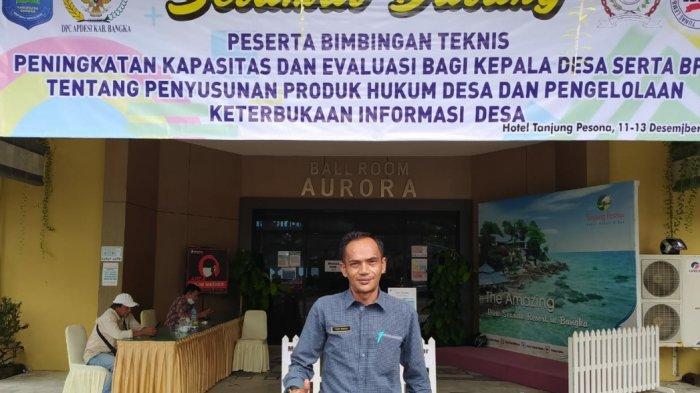 Yusni Thamrin, Ketua Pelaksana Bimbingan Teknis DPC APDESI Kabupaten Bangka
