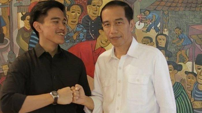 Kaesang Pangarep dan Joko Widodo (Jokowi).