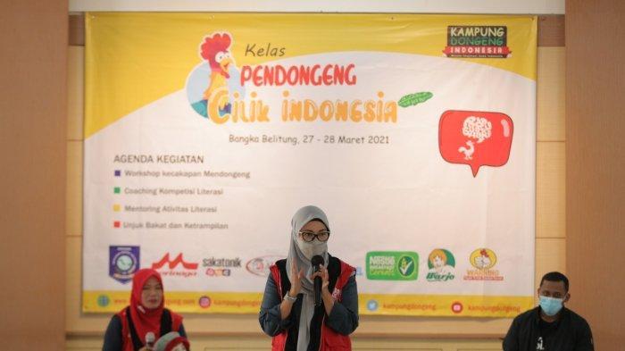 Kelas Dongeng Cilik, Langkah Awal Kembangkan Literasi Anak di Bangka Belitung
