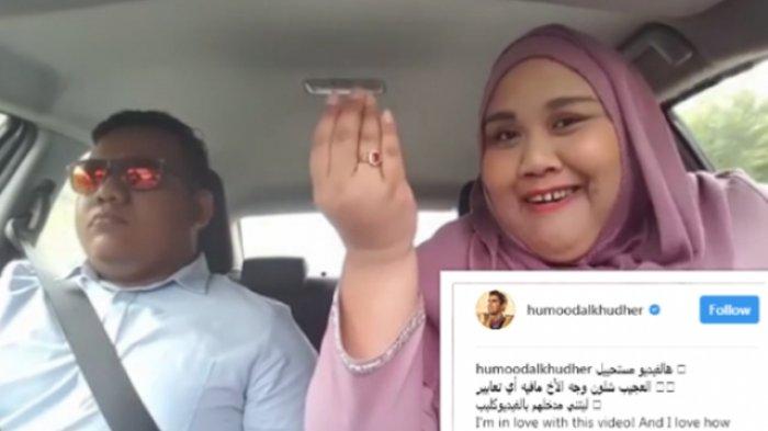 Kak Girl Kembali Curi Perhatian, Kini Humood AlKhuder Terkesima, Begini Aksi Kocaknya