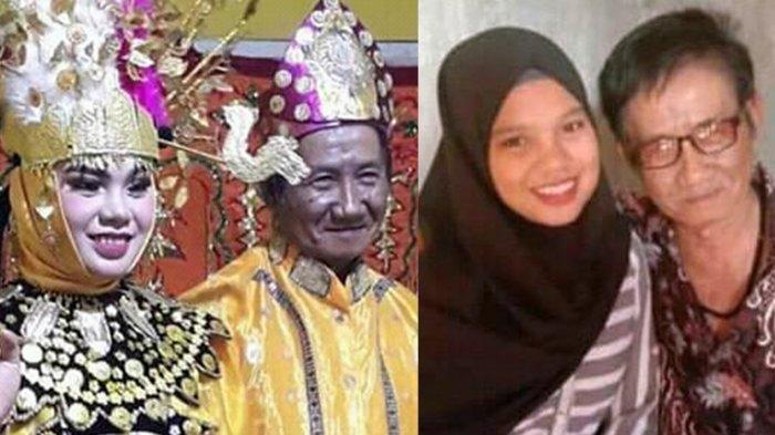 Heboh Pernikahan Beda Usia Kakek 74 Tahun dan Gadis Muda 18 Tahun, Bermula Niat Cari Pasangan Jujur