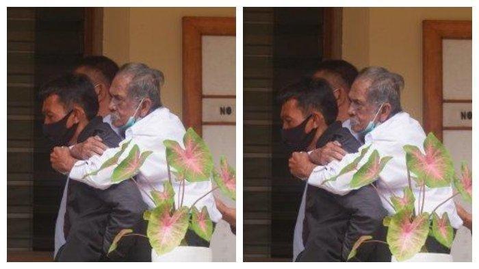 Kisah Pilu Kakek Koswara yang Digugat Rp3 M oleh Anaknya, Digendong Menantu Saat ke Ruang Mediasi