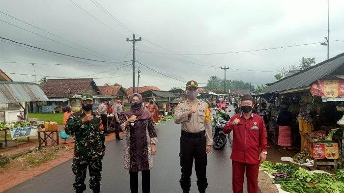 Polsek Merawang Dirikan Posko Kampung Tegep Mandiri di Desa Dwi Makmur