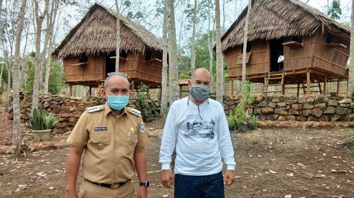 Destinasi Wisata Kampung Tiga Orang di Tuatunu, Udara Sejuk Suasana Terasa Tenang