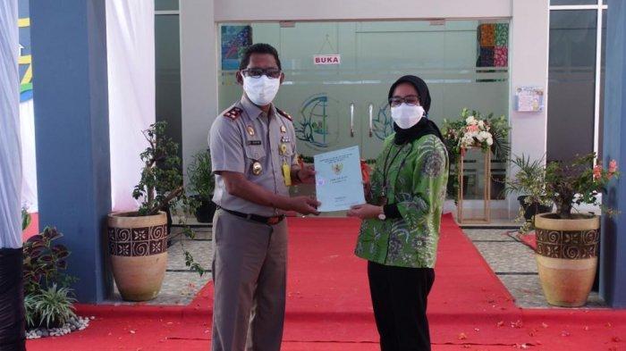 Amankan Aset, Kantah Kabupaten Belitung Serahkan Tiga Sertifikat ke PLN