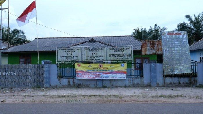 Kantor Pemerintahan Desa Kayu Arang Kecamatan Kelapa Kabupaten Bangka Barat