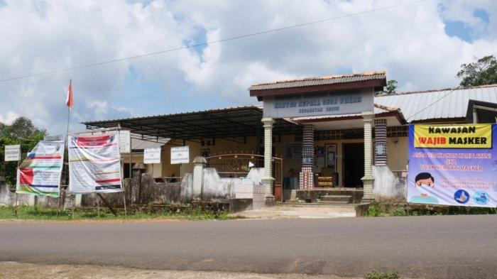 Kantor desa Rukam Bangka Barat