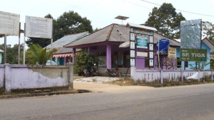 Kantor Desa Simpang Tiga Kecamatan Simpang Teritip Kabupaten Bangka Barat