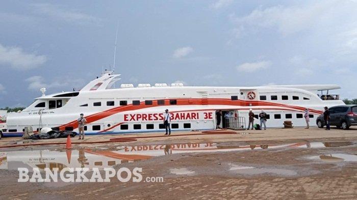 Satu Pasien Belitung Positif Corona, Express Bahari 3E Tujuan Tanjungpandan-Pangkalbalam Dihentikan