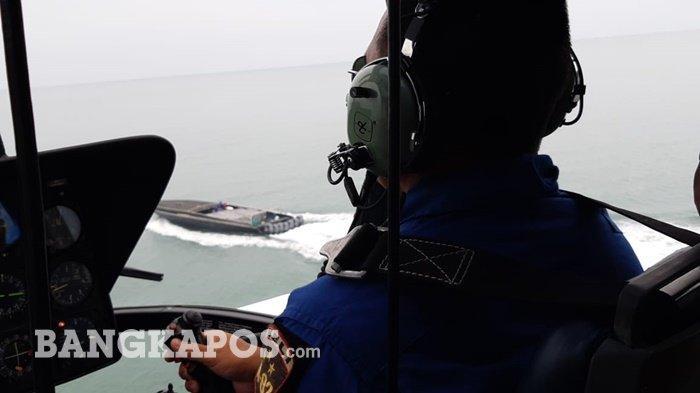 FOTO-FOTO Penangkapan Kapal Hantu Pembawa Miras yang Ditangkap Polda Bangka Belitung
