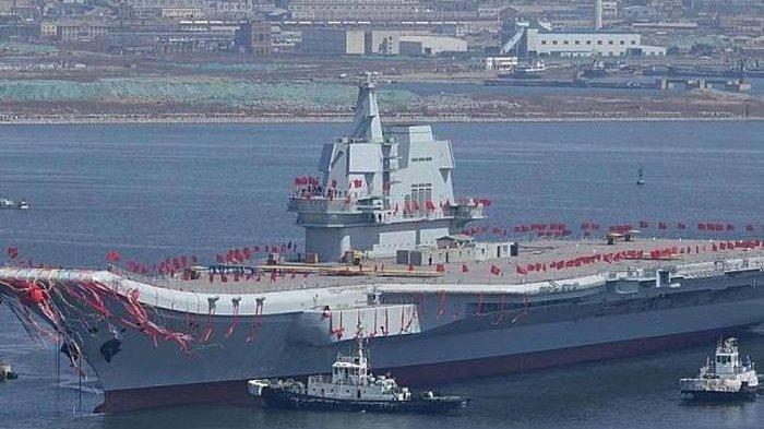 Bocoran Orang Dalam Militer, China Siap Perang, Kapal Induk Shandong Diturunkan ke Laut Lepas