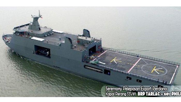 Kapal Perang yang Dibeli Filipina dari Indonesia Ini Makin 'Sakti' Berkat Italia dan Israel
