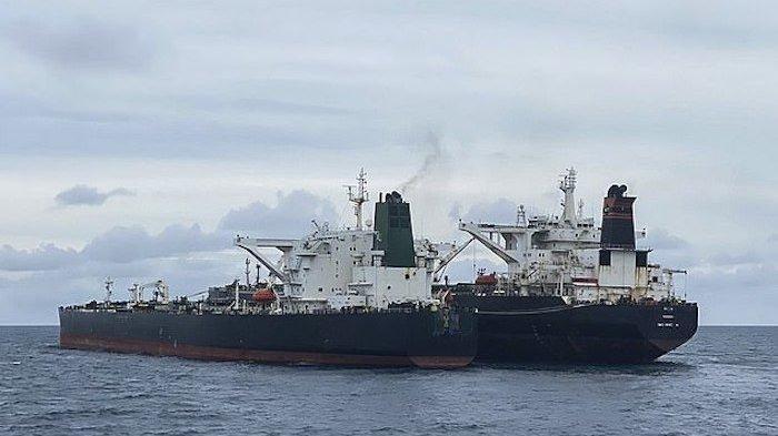 Pindahkan Minyak Secara Ilegal, Kapal Tangker Milik Iran Ditangkap Indonesia di Perairan Kalimantan