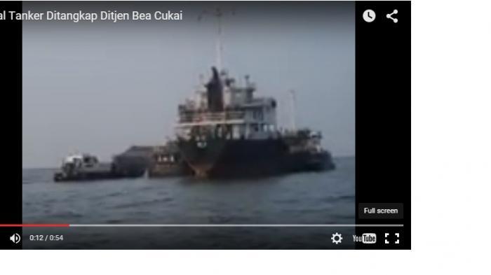 Bea Cukai Sergap Kapal Tanker Muat BBM Usai Transaksi Ship to Ship di Perairan Babel