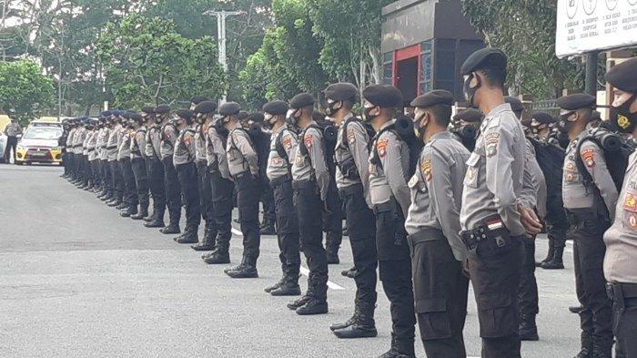 Kapolda Bangka Belitung Lepas 340 Anggota Kepolisian untuk di BKO dalam Pengamanan Pilkada Serentak