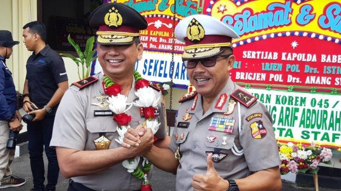 BREAKING NEWS : Kapolda Baru Brigjen Pol Anang Syarif Hidayat Disambut di Polda Bangka Belitung