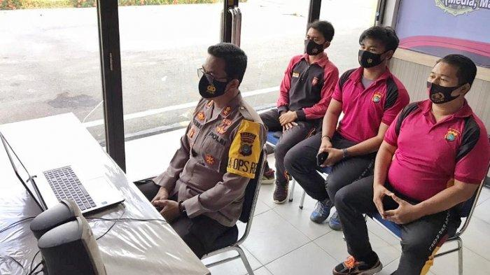 Kapolres Bangka Barat Ikut Pelatihan Public Speaking, Digelar Div Humas Mabes Polri