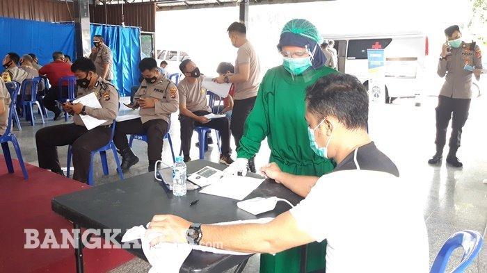 Dokkes Polda Bangka Belitung Gelar Pemeriksaan Kesehatan di Polres Bangka