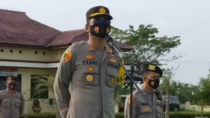 Kapolres Bangka Barat Tidak Mentolerir Anggota Terlibat Narkotika, Proses Hukum Tak Pandang Bulu