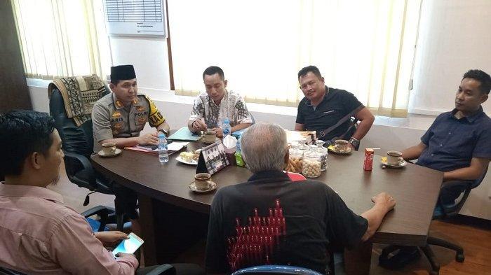 Kapolres Bangka Undang KPAD Bangka Belitung Bahas Soal Unjuk Rasa Oknum Pelajar