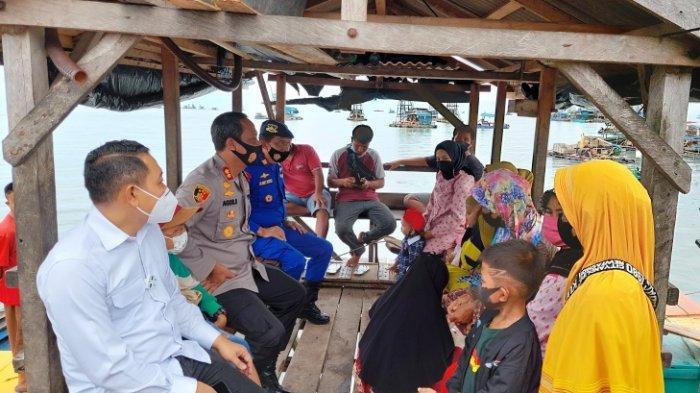 Kapolres Bangka Selatan Cek Pelabuhan Tikus Sukadamai, Pemilik Akui Kapal Akan Hanya Kirim Barang