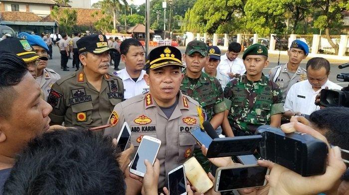 Polisi: Tidak ada Massa Bergerak dari Tangerang ke MK