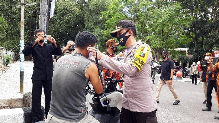 Masyarakat Mulai Abaikan Penggunaan Masker, Kapolres Pangkalpinang Ingatkan Ada Sanksi Menanti