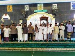 Kapolres Babar Himbau Jamaah Masjid untuk Patuhi 4M