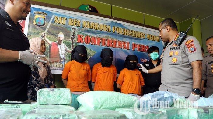 Kronologi 2 Gadis Usia 17 Tahun Ditangkap Terkait Sabu 15 Kg dan Pil Ekstasi 60 Ribu Butir