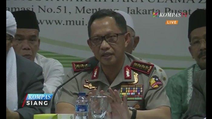 Jaga Kesucian Aksi 212, Kapolri Sebut Penangkapan Tokoh dan Aktivis saat Subuh Sudah Disetting