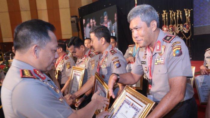 Polda Kepulauan Bangka Belitung Dapat Penghargaan dari Kapolri