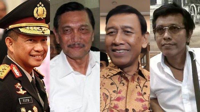 Kapolri, Luhut Binsar, Wiranto hingga Adian Napitupulu Jadi Target Penculikan dan Pembunuhan