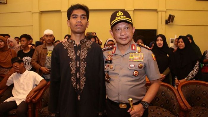 Tito Berikan Dispensasi Putra Almarhum Bripka Marhum Jika Ingin Jadi Polisi