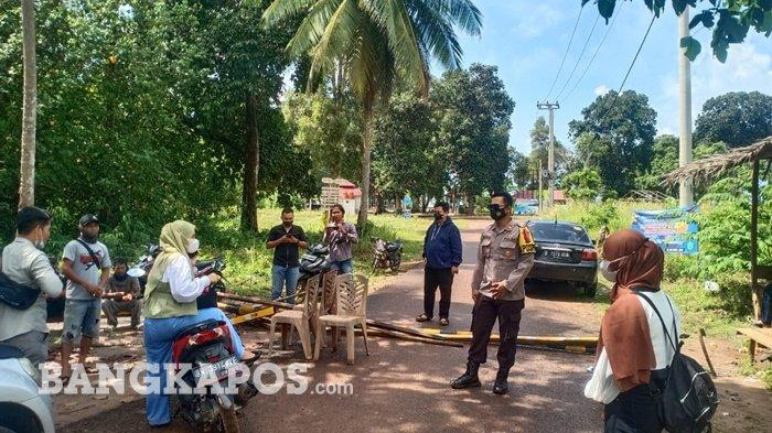 Pasca Lebaran 2021, Polisi Bersama Satgas Covid-19 Jaga dan Cegah Pengunjung Masuki Kawasan Wisata