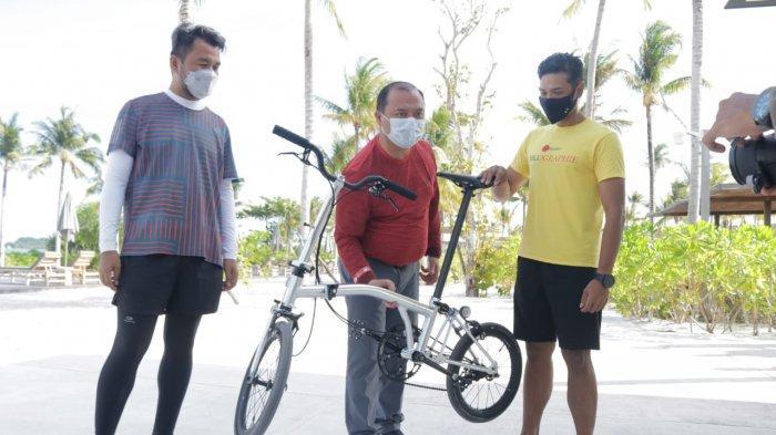 Gubernur Bangka Belitung Bangga Gunakan Produk Lokal, Pesan Sepeda Lipat Billiton