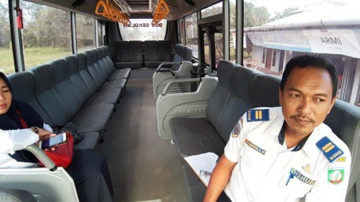 Dishub Belitung Timur Ujicoba Bus Sekolah