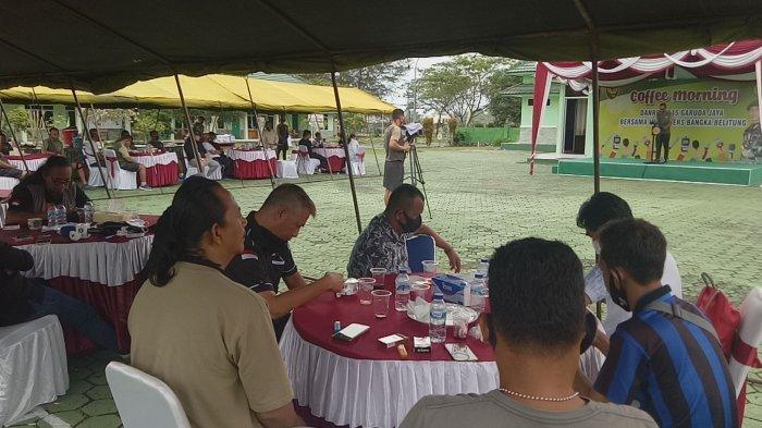 Silaturahmi Danrem 045 Gaya Momen Kekuatan Ikatan Batin dengan Jurnalis