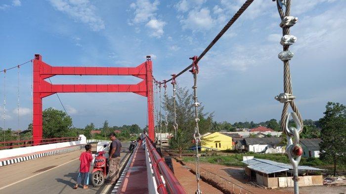 Kawat Seling Jembatan Gantung Hilang, Begini Tanggapan Kadis PU