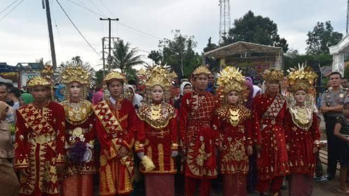 Meriahnya Tradisi Kawin Massal Desa Serdang, Tradisi Turun Temurun Sejak 1935